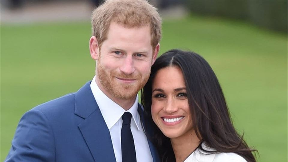 Príncipe Harry e Meghan Markle...