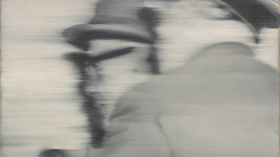 Herr Heyde 1965 - Pintura de Gerhard Richter
