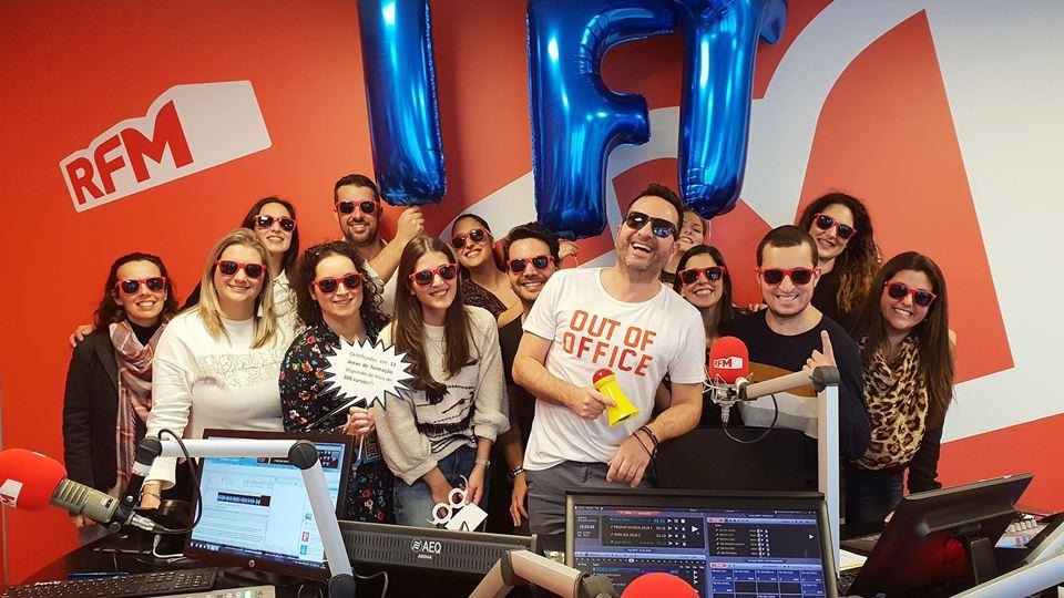 IFT com os Fridayboyz na RFM