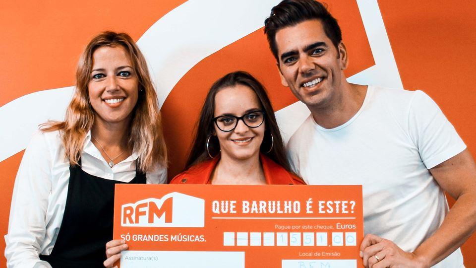 Catarina Silva, a vencedora do primeiro Que barulho é este, na RFM?