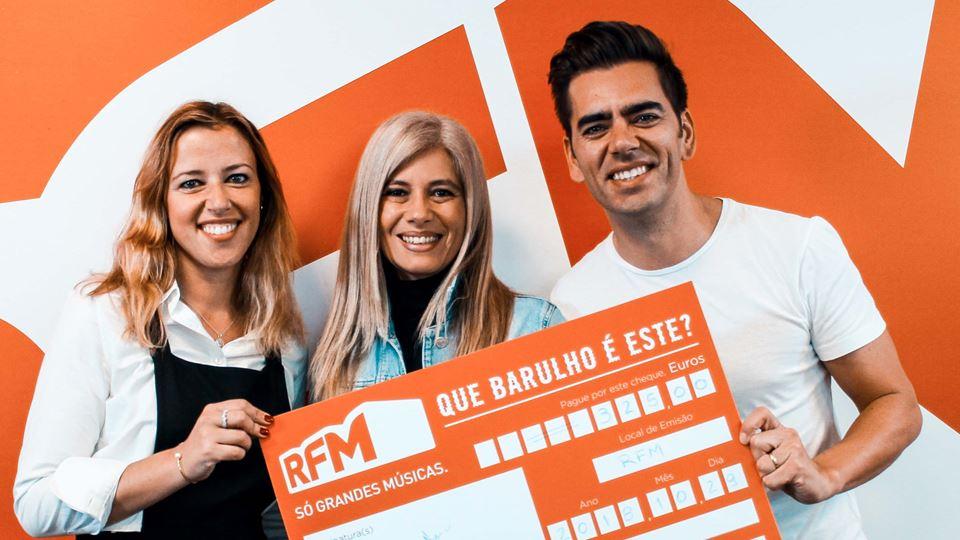 Carla Nunes, a segunda vencedora do Que barulho é este na RFM?