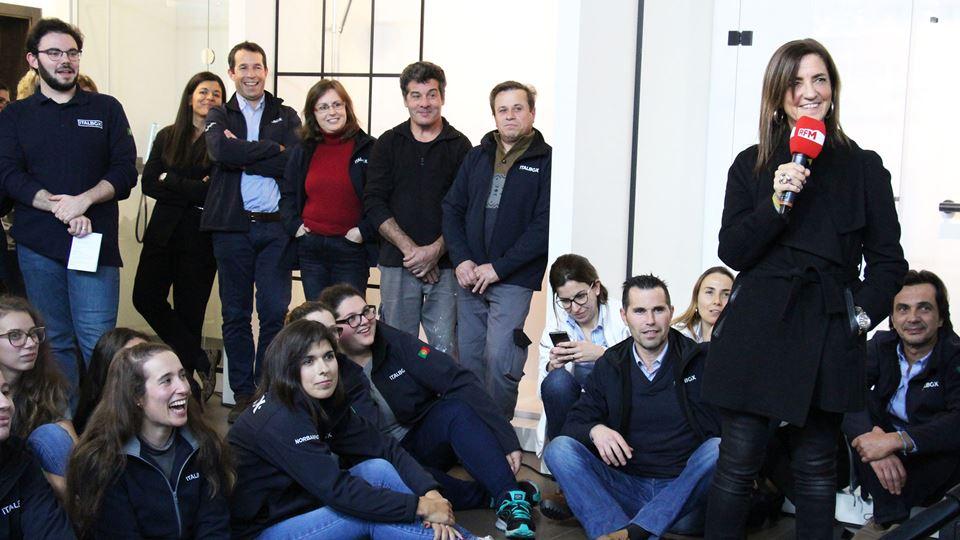 RFM Rock in Office na Italbox - a equipa da Italbox