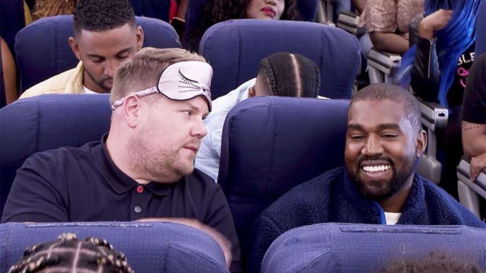 James Corden e Kanye West
