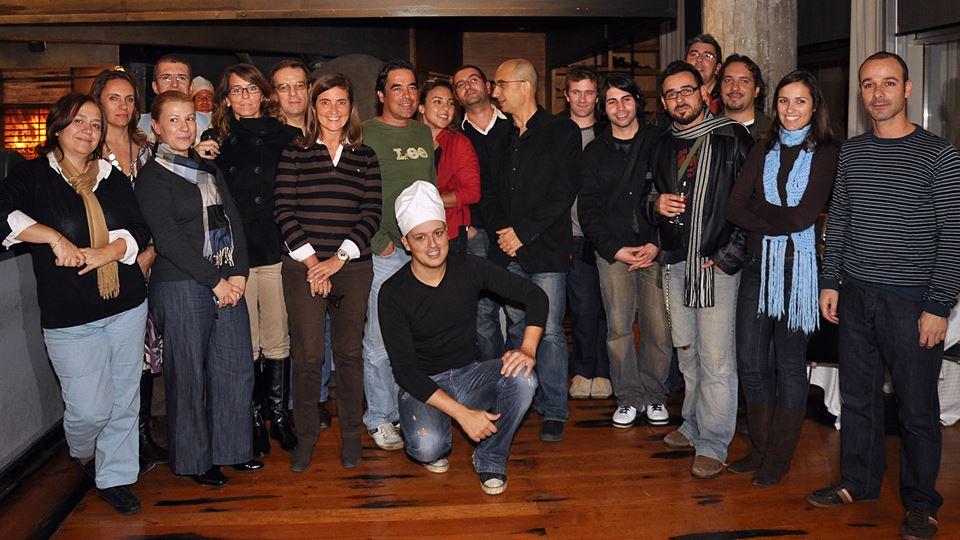Jantar de Natal RFM com Polo Norte 2008