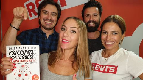 Joana Amaral Dias anuncia que ...