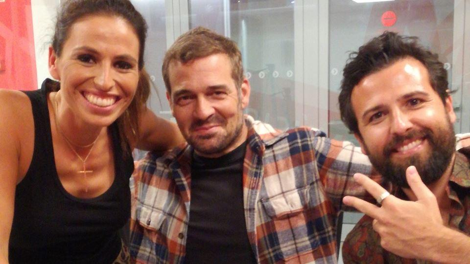 Joana Cruz, Rodrigo Gomes e Pêpê Rapazote - 12 setembro 2017