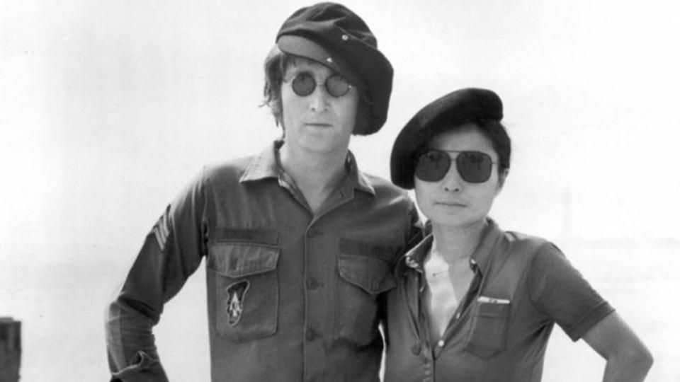 John Lennon e Yoko Ono Imagine