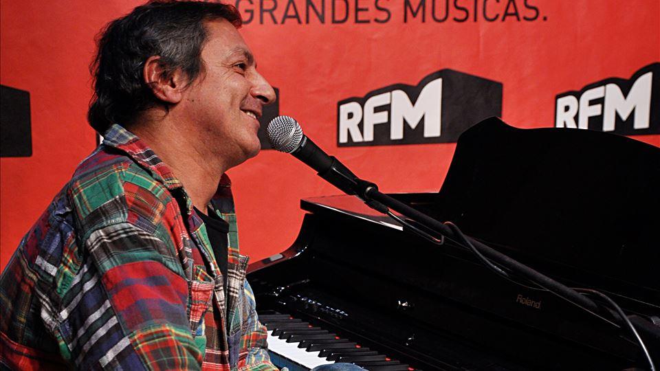 Jorge Palma no auditório da RFM  - Dezembro 2008 foto José frade
