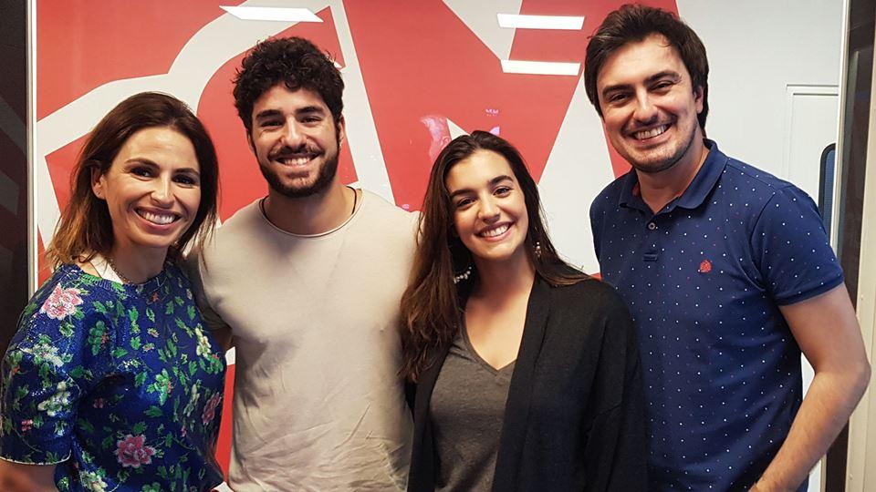 José Condessa e Bárbara Branco no Wi-fi da RFM
