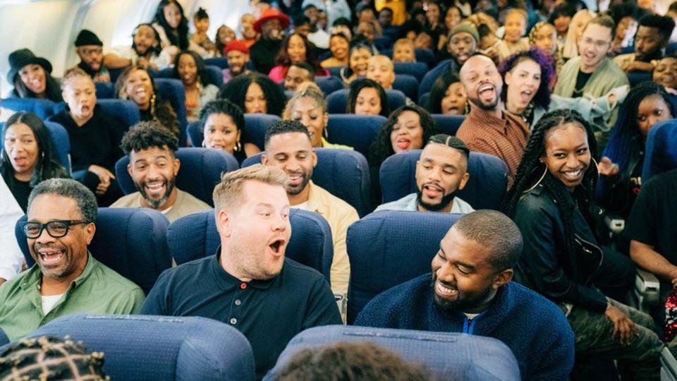 Airpool Karaokee com Kanye West