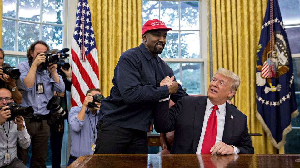 Kanye West é candidato à presi...