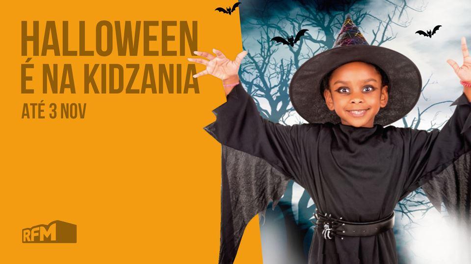 Halloween é na KidZania