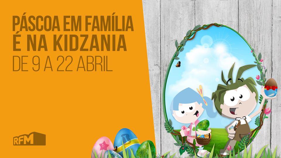 Páscoa em família na KidZania
