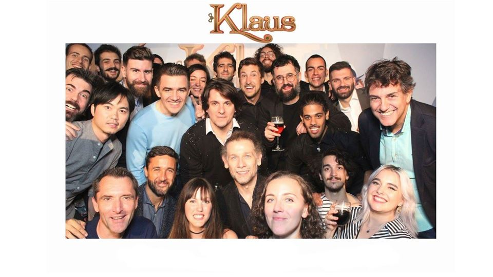 Klaus equipa portugueses
