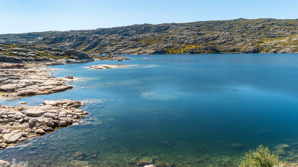 Lago na Serra da Estrela