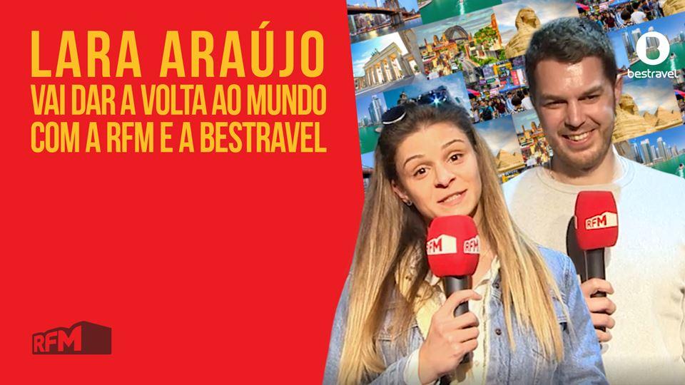 Lara Araújo vai dar a Volta ao...