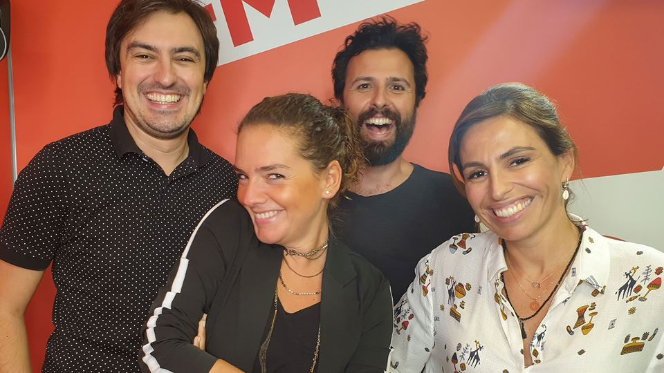 Leonor Seixas no Wi-fi da RFM