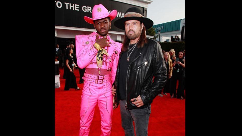 Lil Nas e Billy Ray Cyrus nos Grammy 2020