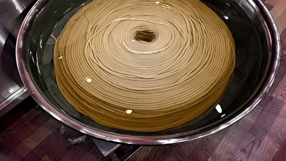 O noodle mais longo de sempre