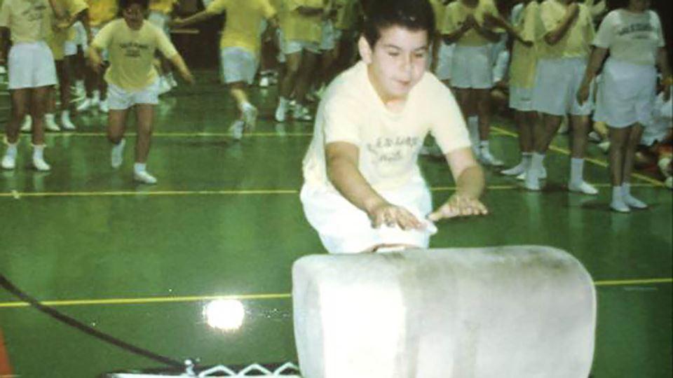 Luís Franco Bastos em criança