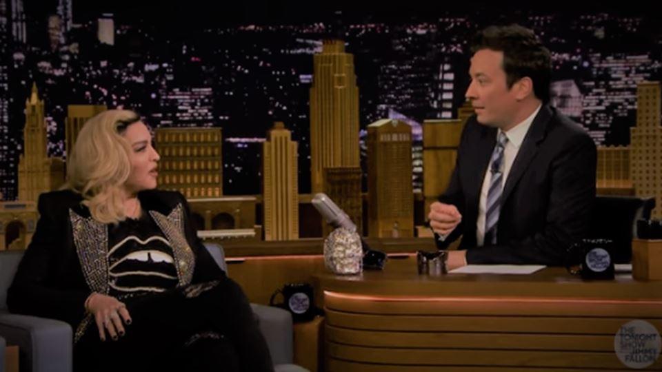 Madonna fala de Lisboa no prog...