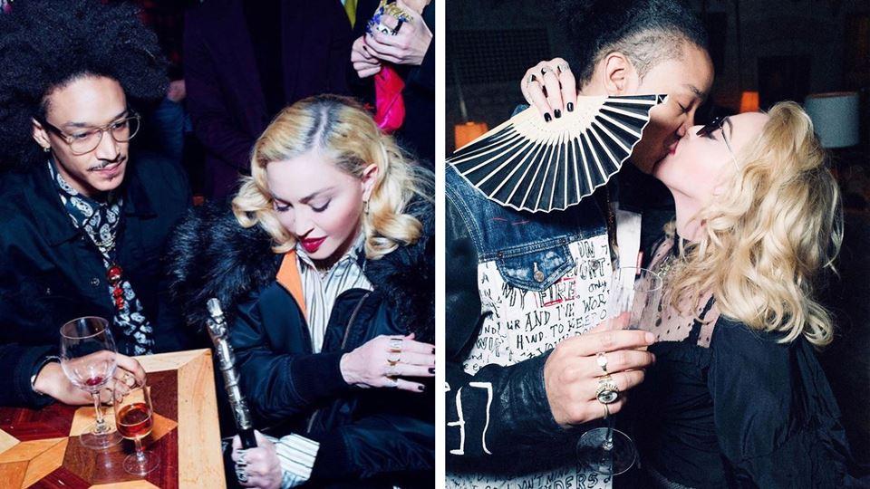 Madonna assume namoro com bail...