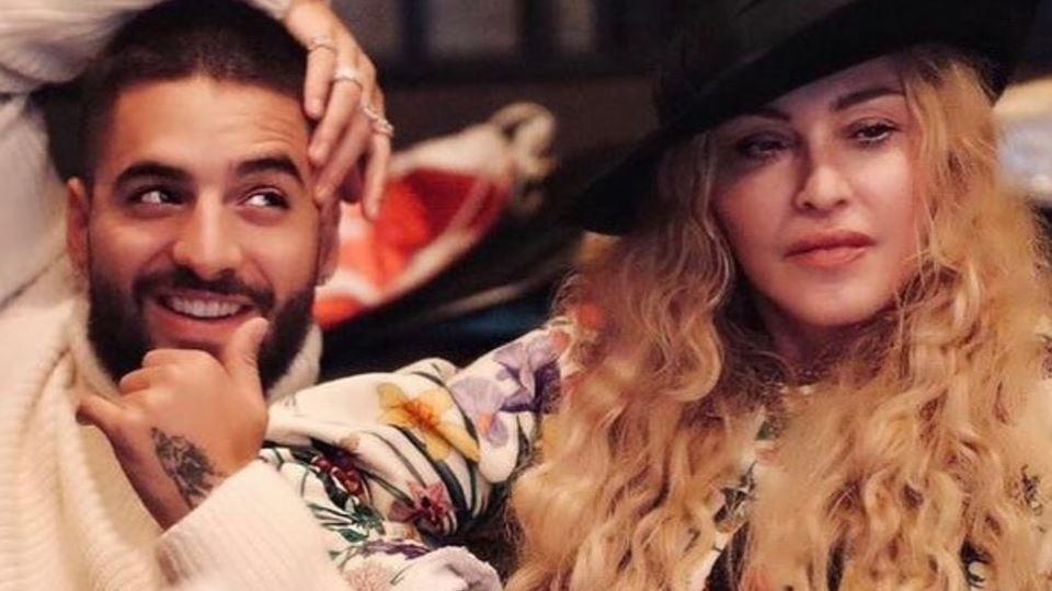 Madonna e Maluma: juntos em Li...
