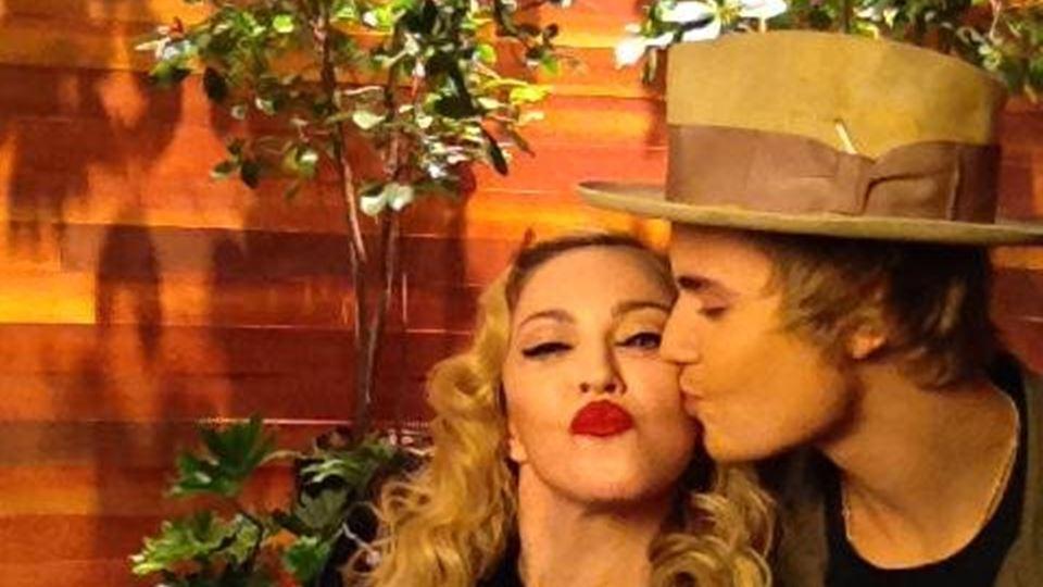 Madonna e Justin Bieber têm a ...