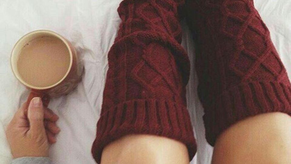 As meias que te dão horas de sono