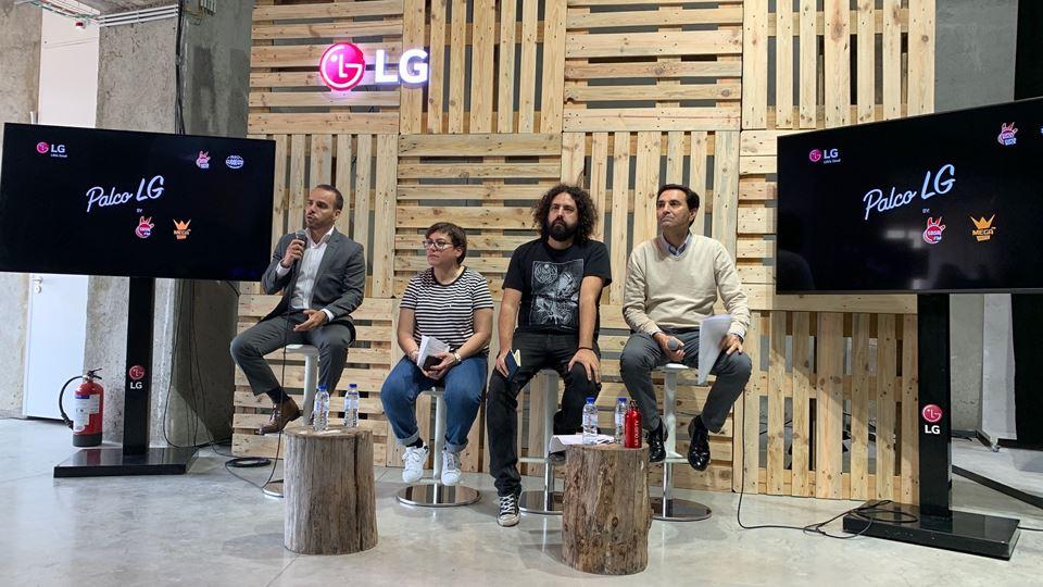 MEOSW apresentação Palco LG