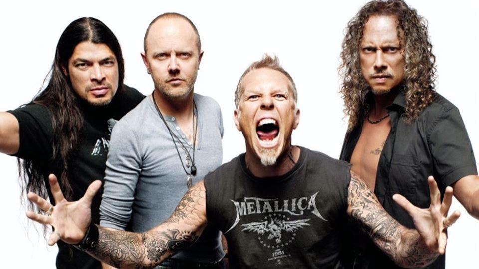 Metallica homenageiam Zé Pedro...
