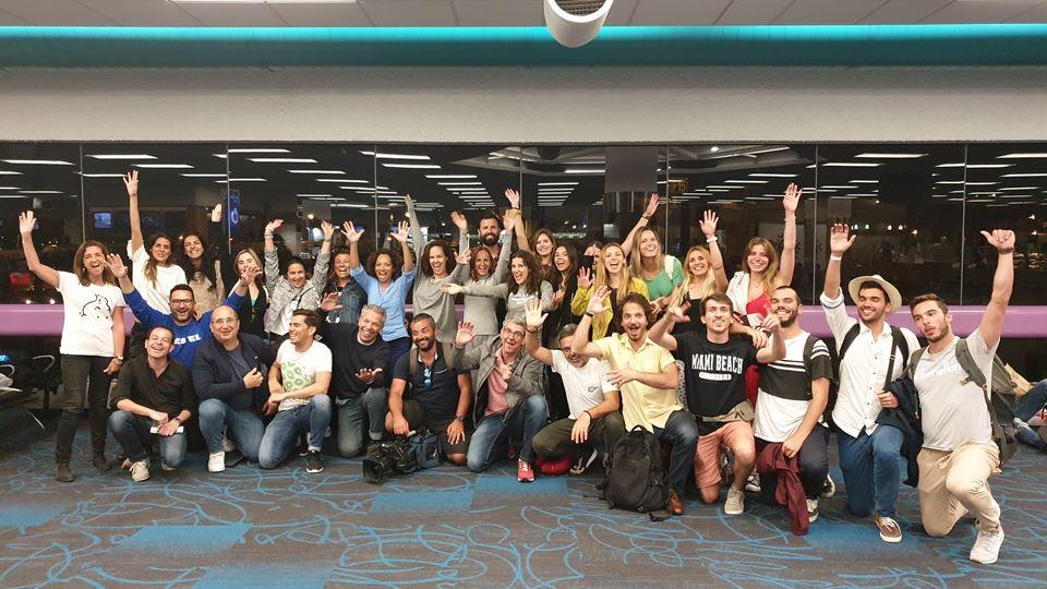 Aeroporto de Miami - a despedida RFM Royal Caribbean Selfie Trip