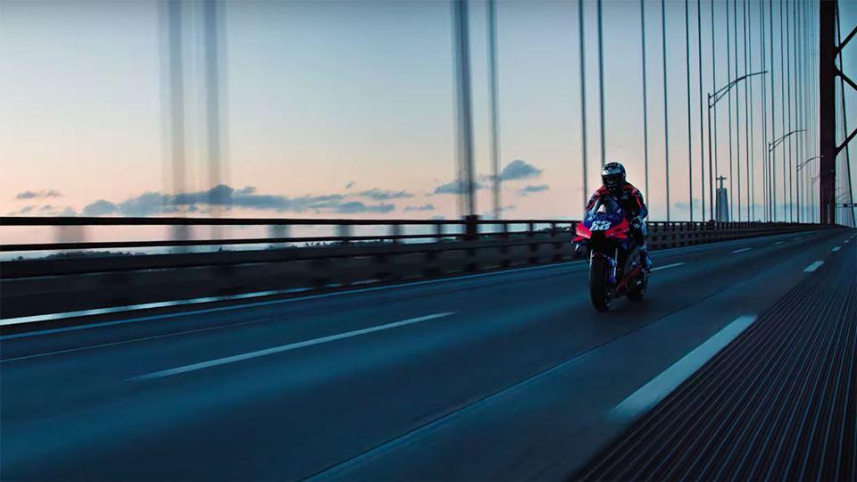 Miguel Oliveira corre na Ponte...