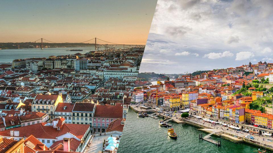 Porto ou Lisboa, qual é mais c...
