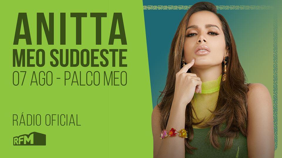 Anitta no MEO Sudoeste 2019