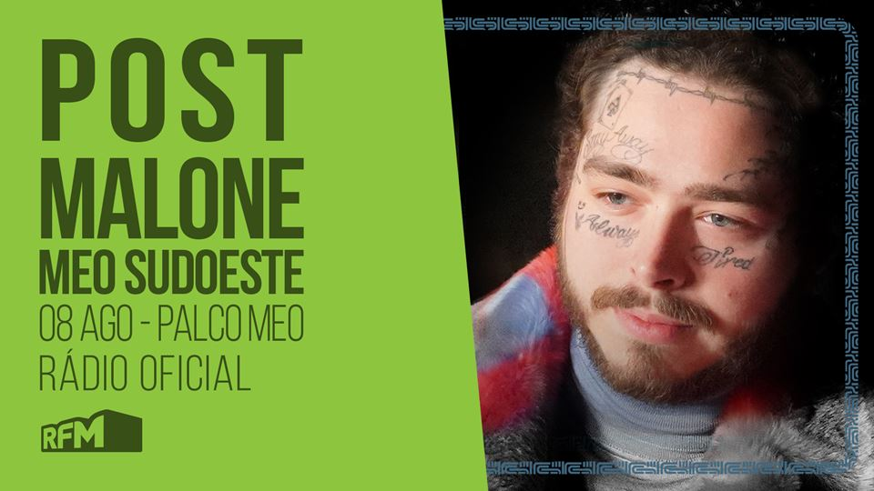 Post Malone no MEO Sudoeste 2019