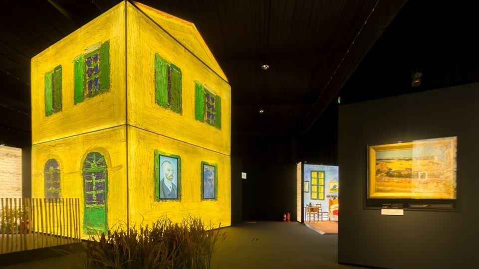 Meeting Van Gogh Uma experiência interativa