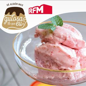 O gelado de morango mais rápido ( e saudável) de sempre