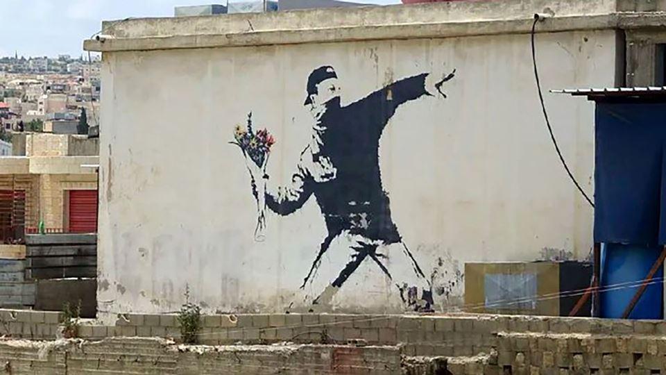 Banksy perde direitos autorais...