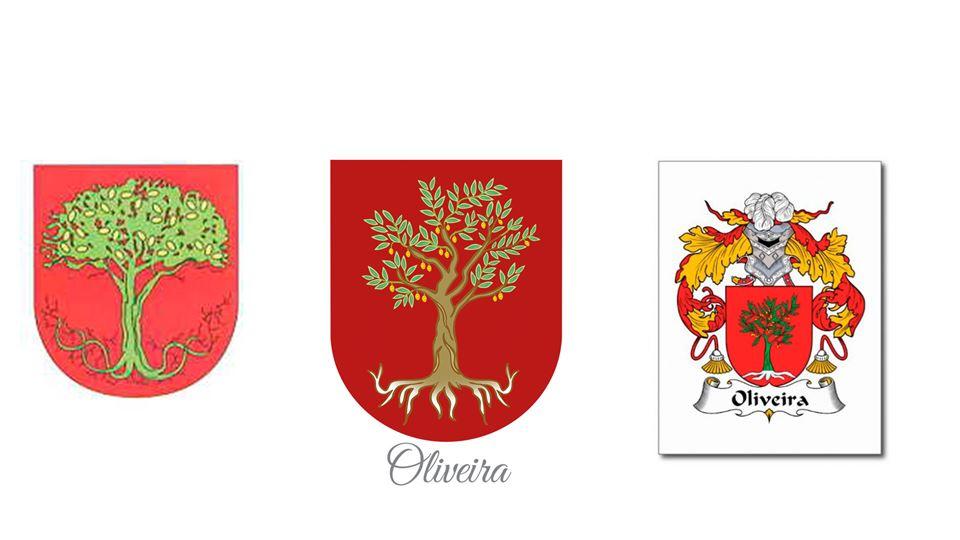 oliveira brasão