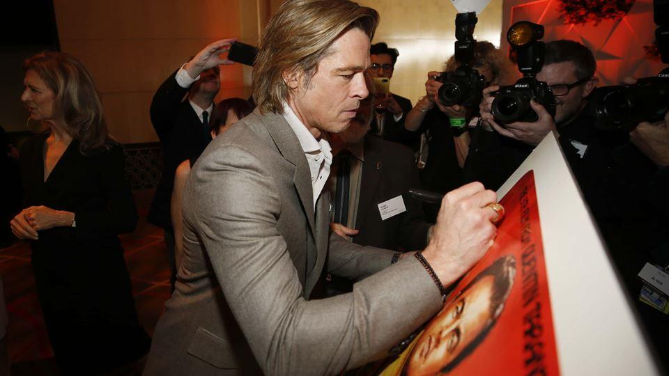 Brad Pitt a caminho dos Óscares 2020