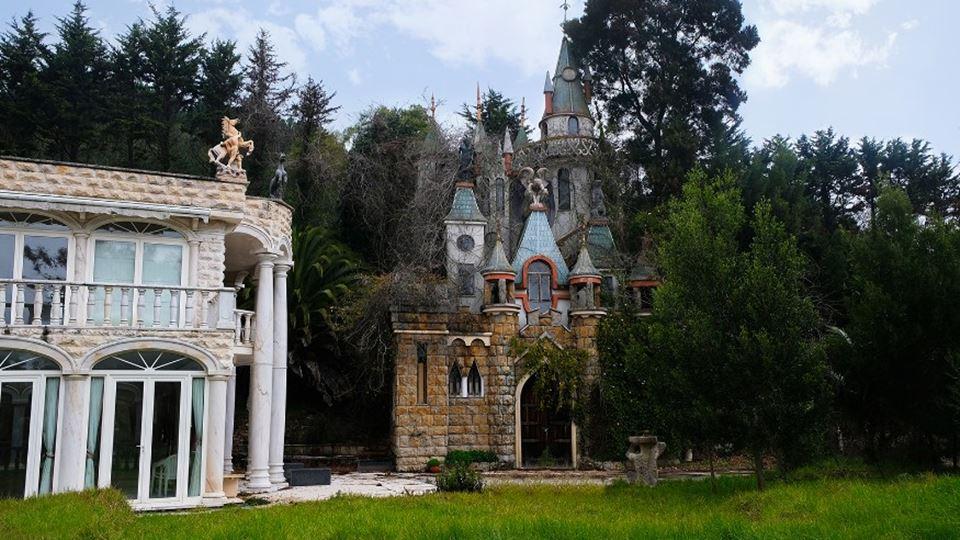 """O """"Palácio da Disney"""" em Sintr..."""