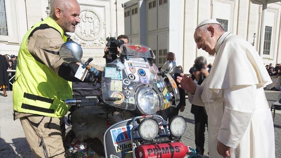 papa e motards