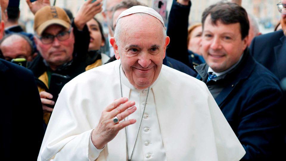 Papa Francisco preocupado com ...