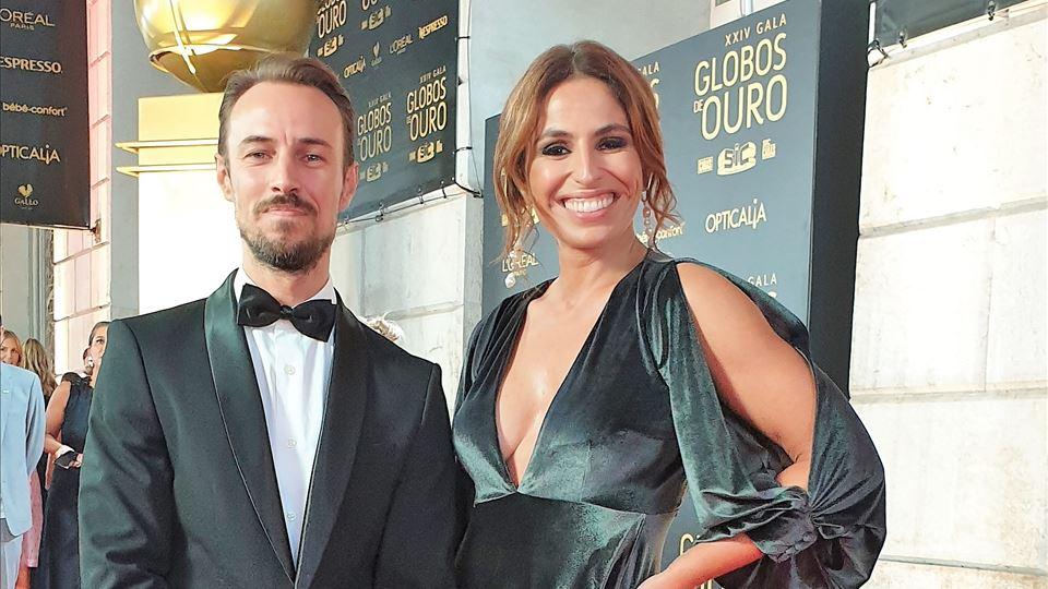 Paulo Pereira e Joana Cruz RFM nos Globos de Ouro