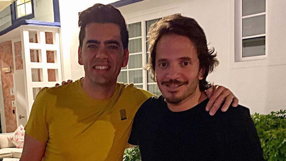 Pedro Fernandes e Chef Kiko ainda deram um mergulho em Miami antes do jantar