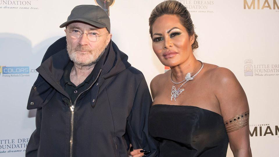 Ex-mulher de Phil Collins acus...