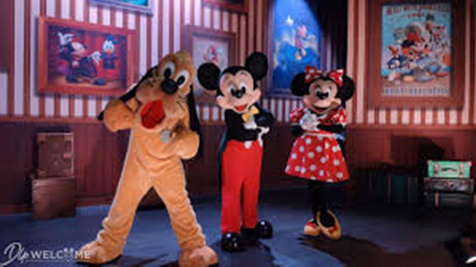 Pluto Mickey e Minnie