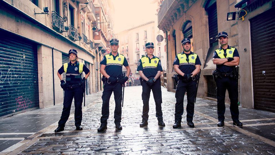 Polícia espanhola canta Baby S...