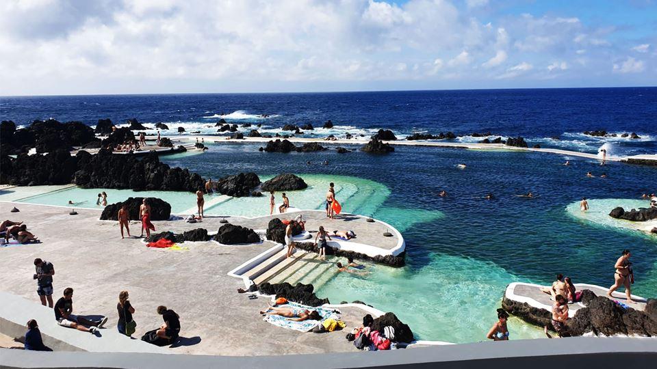 As piscinas de Porto Moniz